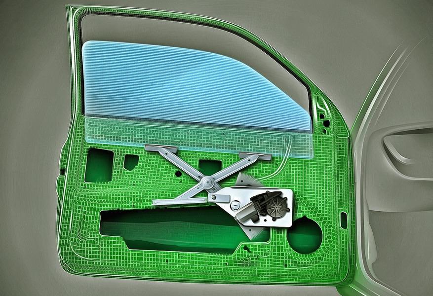 Замена и ремонт стеклоподъёмников